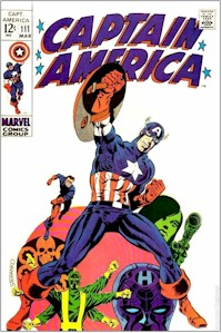 Captain America 111 - for sale - mycomicshop