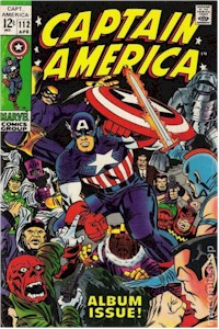 Captain America 112 - for sale - mycomicshop