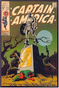 Captain America 113 - for sale - mycomicshop