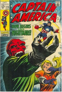Captain America 115 - for sale - mycomicshop