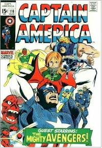 Captain America 116 - for sale - mycomicshop