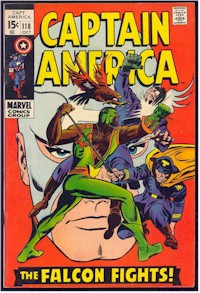 Captain America 118 - for sale - mycomicshop