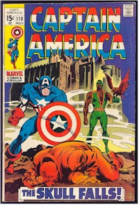 Captain America 119 - for sale - mycomicshop