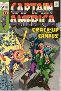Captain America 120 - for sale - mycomicshop