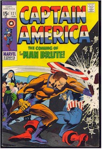 Captain America 121 - for sale - mycomicshop
