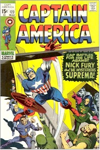 Captain America 123 - for sale - mycomicshop