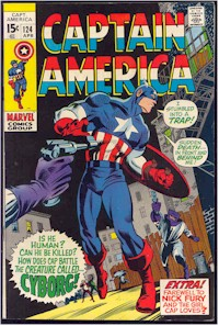 Captain America 124 - for sale - mycomicshop