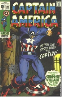 Captain America 125 - for sale - mycomicshop
