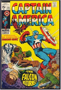 Captain America 126 - for sale - mycomicshop