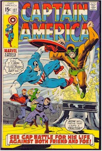 Captain America 127 - for sale - mycomicshop