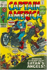 Captain America 128 - for sale - mycomicshop