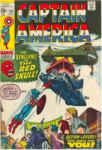 Captain America 129 - for sale - mycomicshop