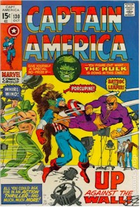 Captain America 130 - for sale - mycomicshop