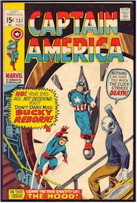 Captain America 131 - for sale - mycomicshop
