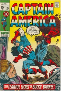 Captain America 132 - for sale - mycomicshop