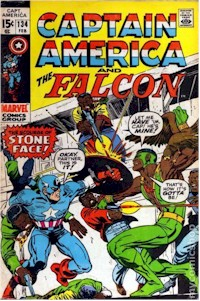 Captain America 134 - for sale - mycomicshop