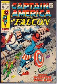 Captain America 135 - for sale - mycomicshop