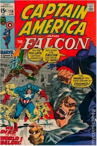 Captain America 136 - for sale - mycomicshop