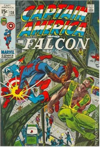 Captain America 138 - for sale - mycomicshop