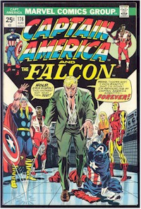 Captain America 176 - for sale - mycomicshop
