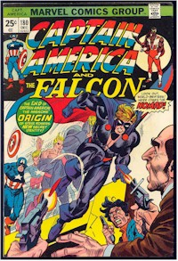 Captain America 180 - for sale - mycomicshop