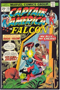 Captain America 186 - for sale - mycomicshop