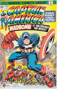 Captain America 193 - for sale - mycomicshop