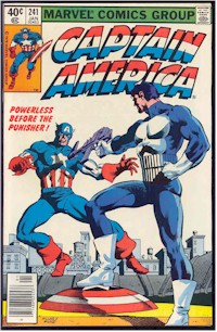 Captain America 241 - for sale - mycomicshop
