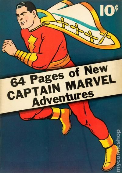 Captain Marvel Adventures 1 - for sale - mycomicshop
