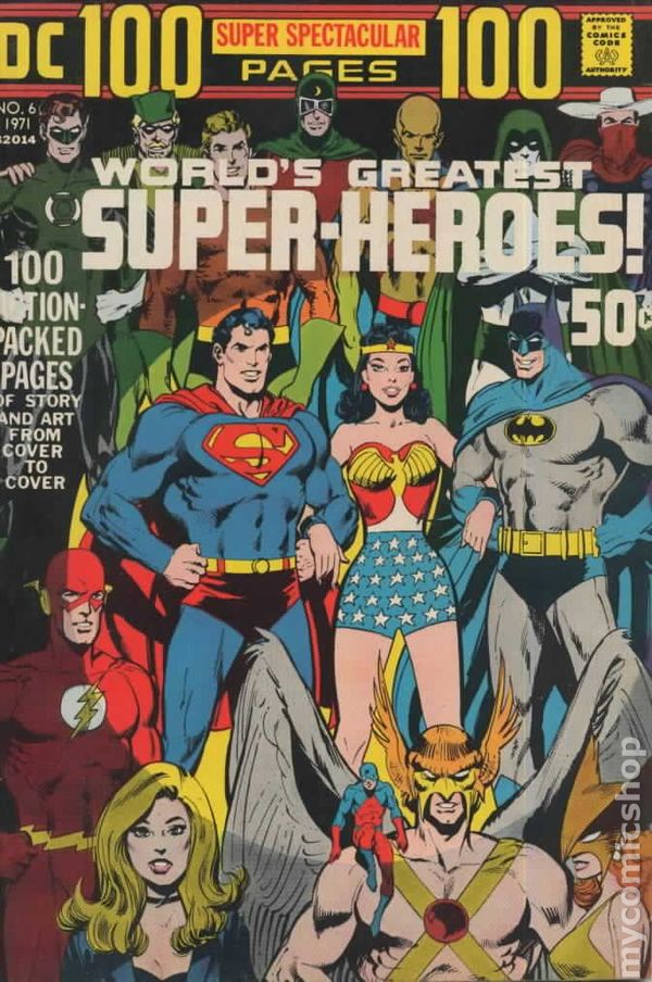 DC 100 Page Super Spectacular 6 - for sale - mycomicshop