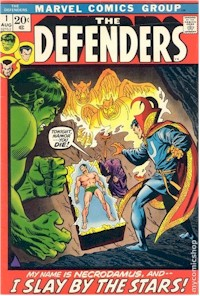 Defenders 1 - for sale - mycomicshop