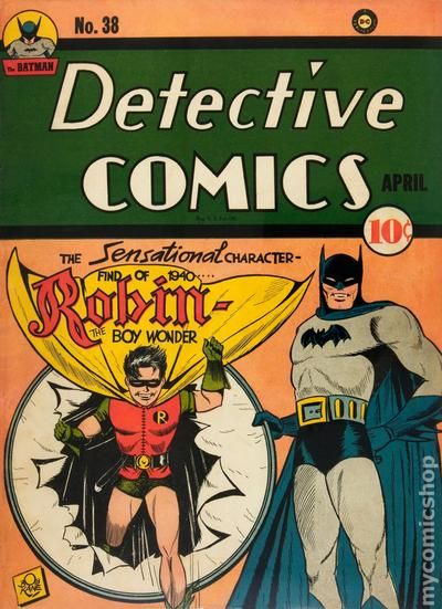 Detective Comics 38 - for sale - mycomicshop