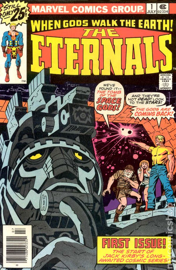Eternals 1 - for sale - mycomicshop