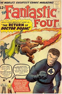 Fantastic Four 10 - for sale - mycomicshop