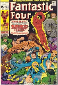 Fantastic Four 100 - for sale - mycomicshop