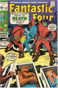 Fantastic Four 101 - for sale - mycomicshop