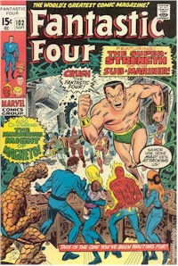 Fantastic Four 102 - for sale - mycomicshop