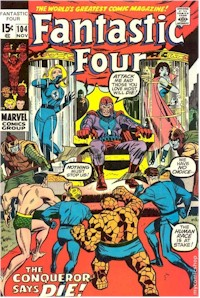 Fantastic Four 104 - for sale - mycomicshop