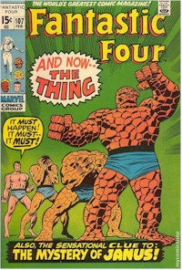 Fantastic Four 107 - for sale - mycomicshop