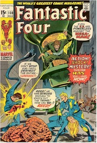 Fantastic Four 108 - for sale - mycomicshop