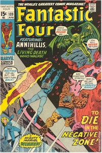 Fantastic Four 109 - for sale - mycomicshop