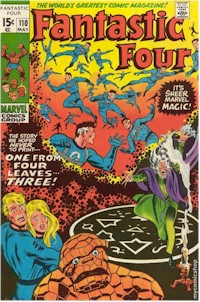 Fantastic Four 110 - for sale - mycomicshop