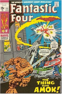 Fantastic Four 111 - for sale - mycomicshop
