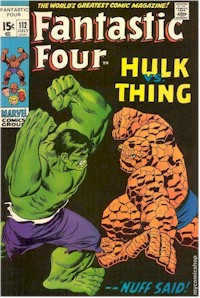 Fantastic Four 112 - for sale - mycomicshop