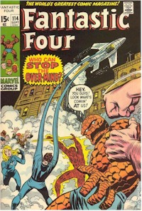 Fantastic Four 114 - for sale - mycomicshop