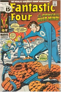 Fantastic Four 115 - for sale - mycomicshop