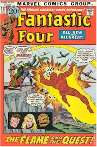 Fantastic Four 117 - for sale - mycomicshop