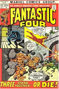 Fantastic Four 119 - for sale - mycomicshop