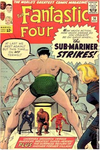 Fantastic Four 14 - for sale - mycomicshop