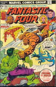 Fantastic Four 166 - for sale - mycomicshop